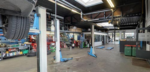 Autobedrijf Palsgraaf / Werkplaats