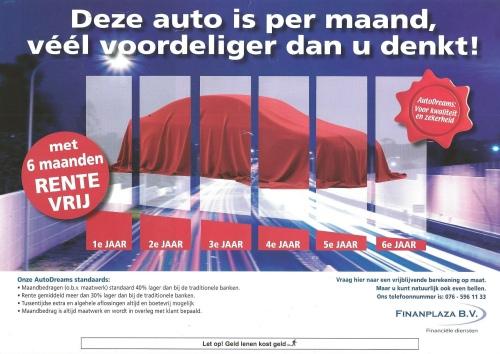Autobedrijf Palsgraaf / Financiering